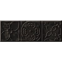 Bulevar Altair Black Decor Декор 100x300 мм/16
